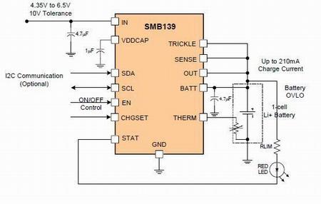 summit推出smb139可程序化锂离子电池充电器,提供最小尺寸及便利的