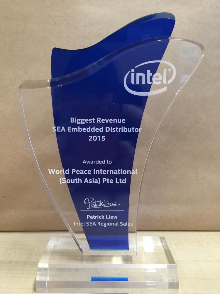 Biggest Revenue SEA Embedded Distributor 2015
