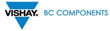 BC COMPONENTS VISHAY Logo