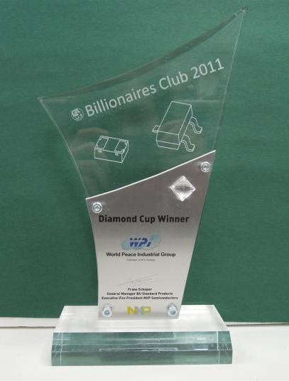 Dimond Cup Winner in YR2011