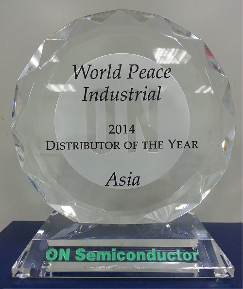 2014 Distributor of the year in Asia