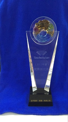 Techvision-2015-Outstanding supplier Award