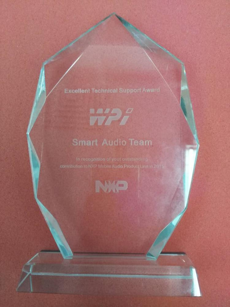 NXP-Excellent Technical Support Award-Smart Audio Team
