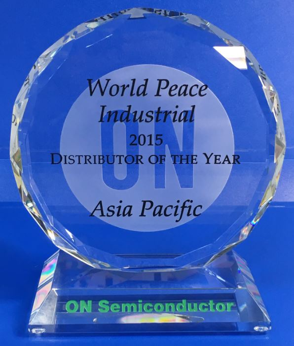 ON-2015 DISTRIBUTOR OF THE YEAR-Asia Pacific