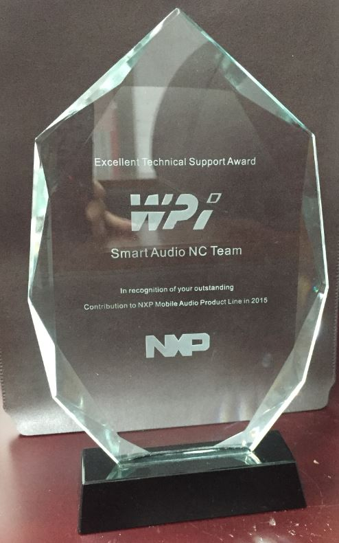 NXP_2015 smart audio NC team