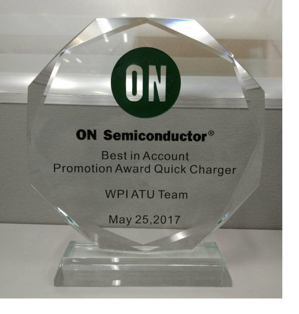 Best in Account Promotion Award Quick Charger