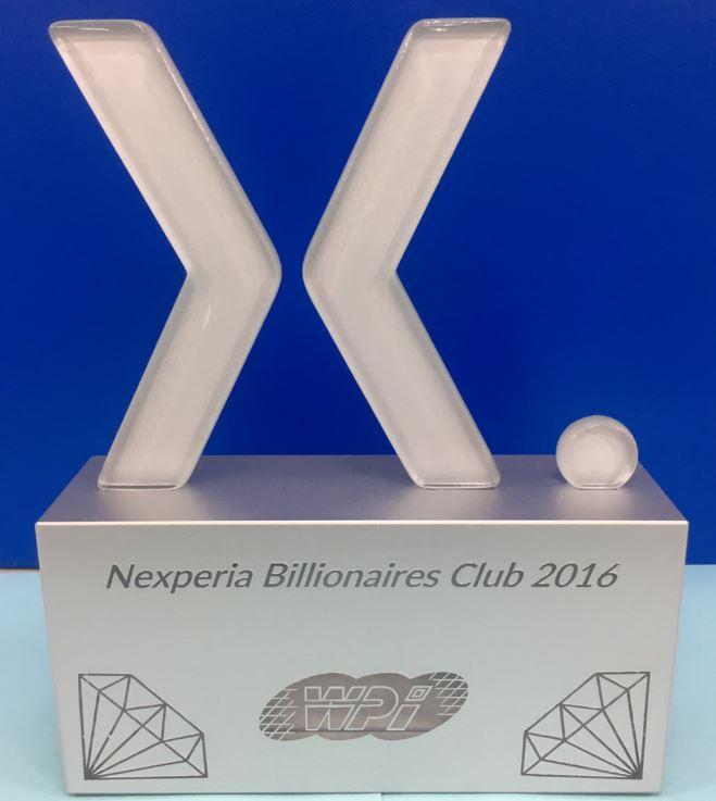 Nexperia Billionaires Club 2016
