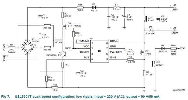 SSL5301T/SSL5306T/SSL5307T LED Driver
