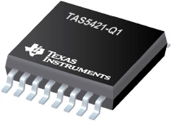 TAS5421-Q1 22-W Mono Automotive Digital Audio Amplifier With Load Dump and I2C Diagnostics
