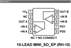 ADA4310-1 High Current Output Line Driver  Amplifier