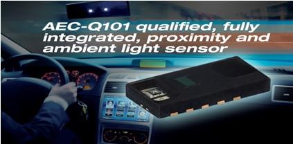 Vishay - Fully Integrated Proximity and Ambient Light Sensor