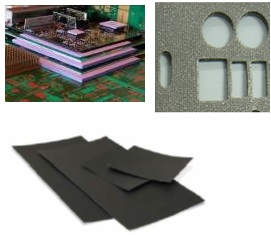 Thermal Interface Material 導熱硅膠片, Coductive Foam 導電泡綿/海綿, Soft Ferrite Sheet 軟磁片