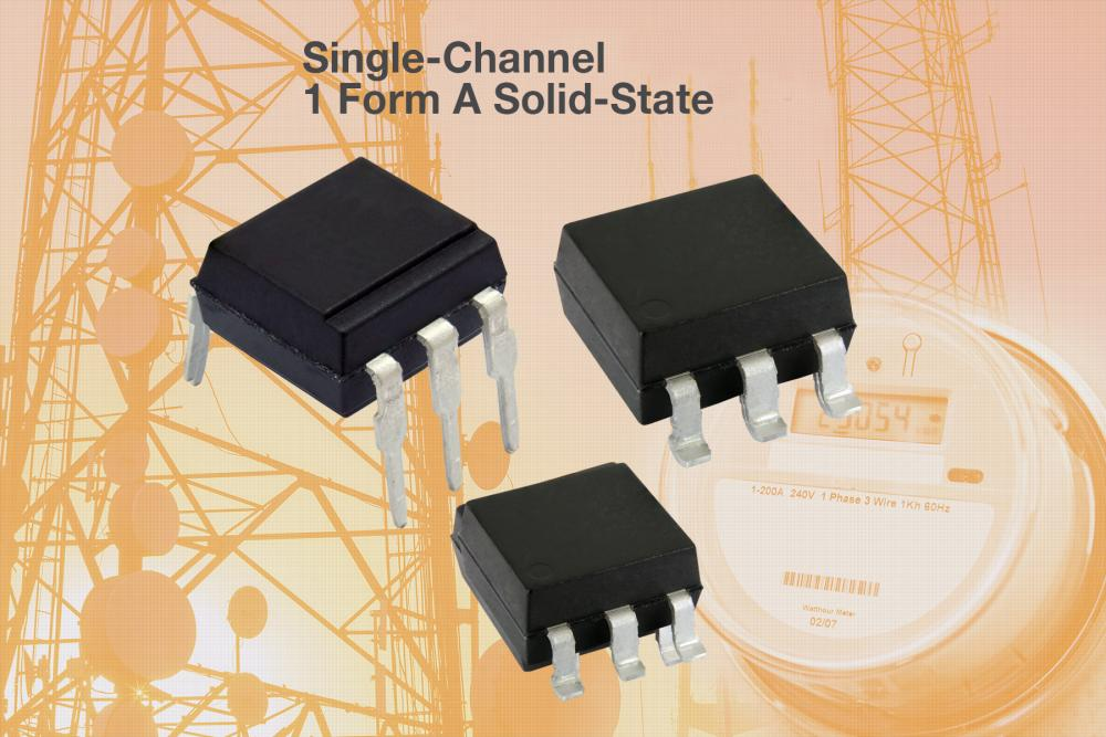VISHAY_New Family of Hybrid Solid-State Relays Offering High-Reliability Replacements for Mechanical Relays