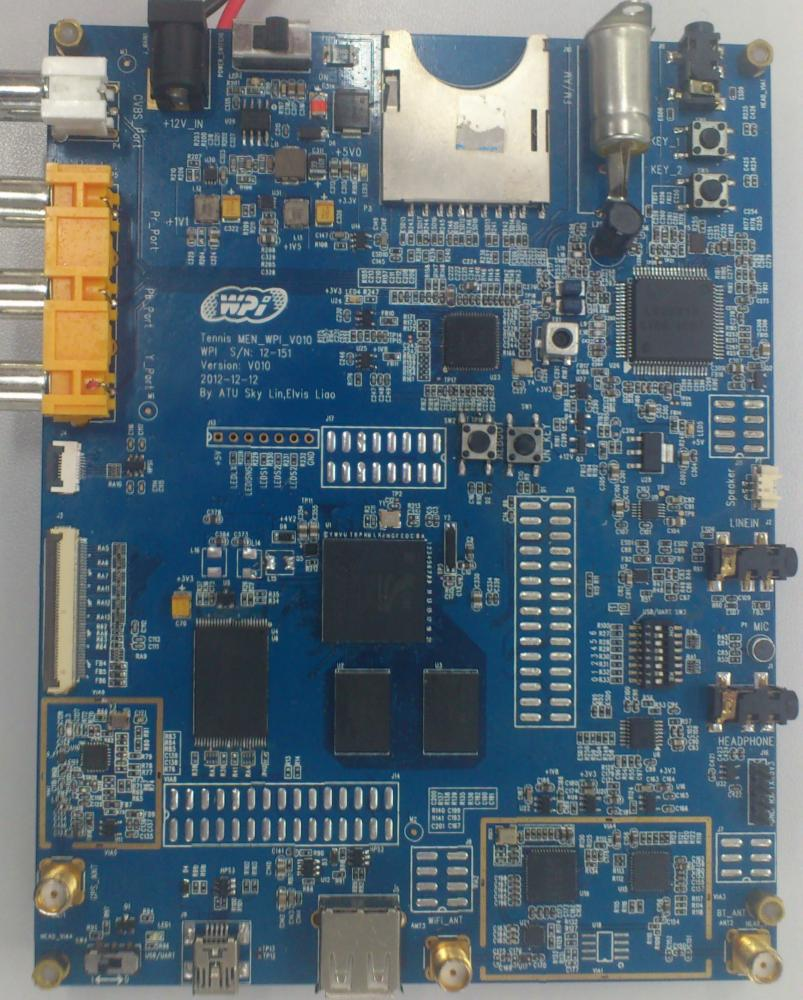 WPI-AUTOMOTIVE-CSR-QTI-SiRFprimaII-Demo-Board