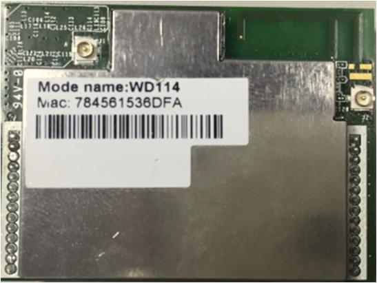 WD114 QCA4531 WiFi module