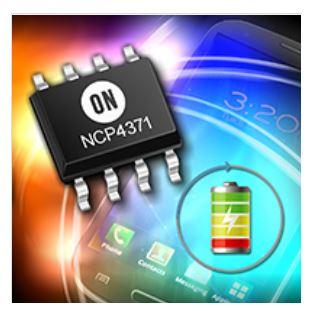 高壓專用充電端口(HVDCP)控制器用於高通快速充電3.0 NCP4371
