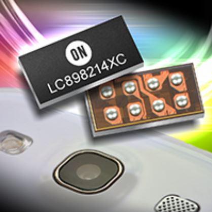 智慧手機拍照模組用自動對焦控制IC LC898214XC