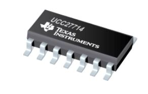High-Speed, 4-A, 600-V High-Side Low-Side Gate Driver UCC27714