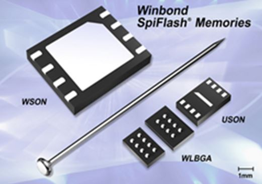Winbond Code Storage W25Q SpiFlash® & W74M Security Flash®