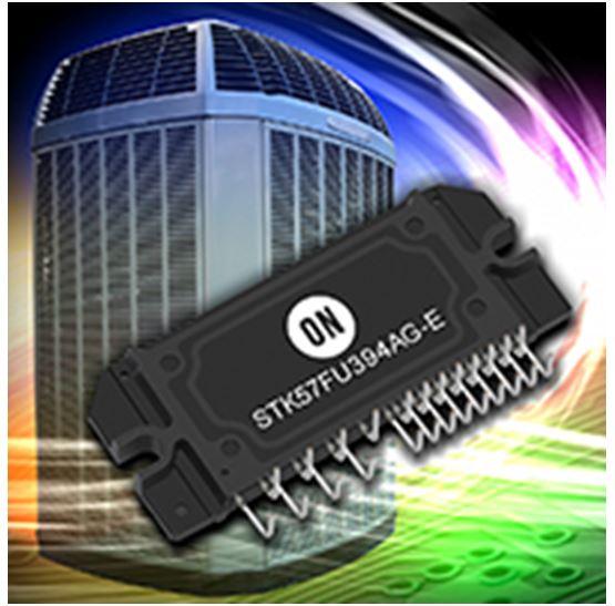 二合一PFC加变频智能功率模块(IPM) STK57FU394AG-E