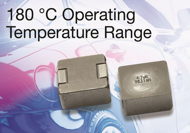 New Vishay Intertechnology Automotive Grade IHLP® Inductor in 5050 Case Size Delivers High-Temperature Operation to +180 °C  IHLP5050FP8A