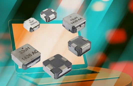 VISHAY - Low Profile, High Current Inductors with e-field Shield IHLE-4040DD-51