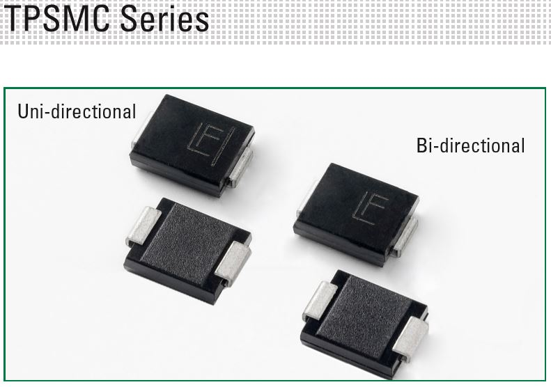 LITTELFUSE - TPSMC Series TVS Diodes TPSMC