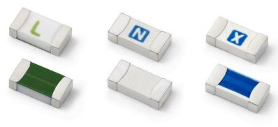 LITTELFUSE - 04371.25WR 437 Series - 1206 Size Lead-Free, Halogen Free, High Temperature Very Fast-Acting Ceramic Fuse