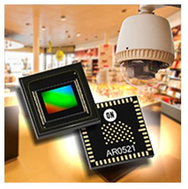 1/2.5英寸510萬圖元高性能CMOS圖像感測器 AR0521