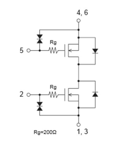 EFC6601R/EFC6602R N溝道功率MOSFET