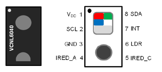 VCNL6040-GS08