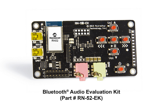 Microchip Bluetooth® Audio Module