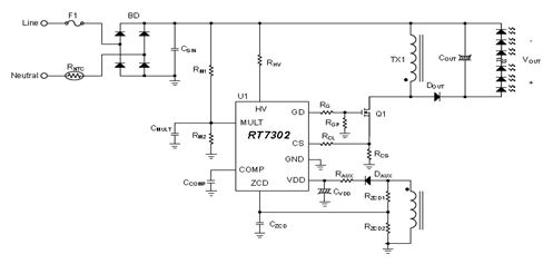 RT7302 Schematic