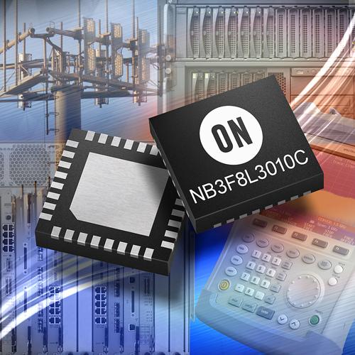 推動高能效創新的安森美半導體(ON Semiconductor)推出兩款新的時脈分配積體電路(IC)。
