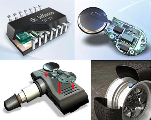 Infineon TPMS/胎壓偵測器