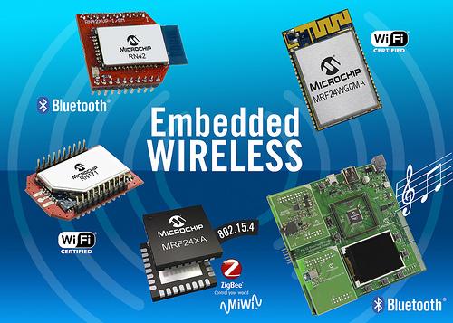 Microchip 嵌入式无线图片: