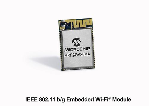 MRF24WG0MA Wi-Fi 模块: