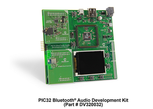PIC32蓝牙音讯开发工具包