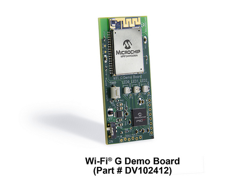 Wi-Fi G 演示板:
