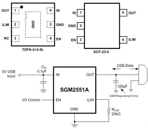 SG MICRO-SGM2551A