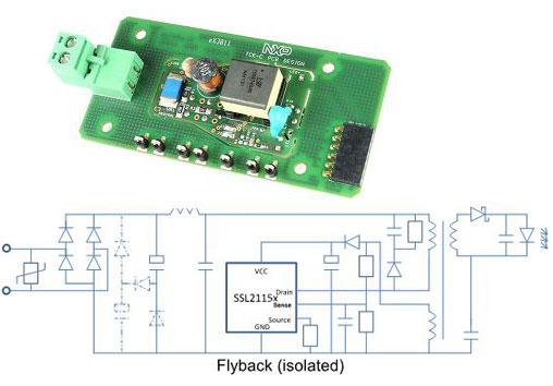 非調光隔離產品SSL2109A、SSL21151