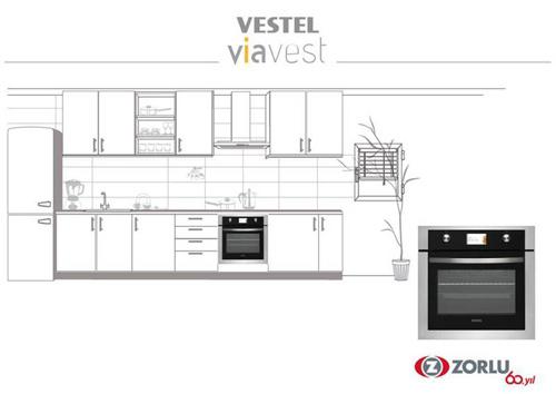 Vestel烤箱選擇採用 NXP 的微控制器驅動其TFT彩色顯示器, LPC1785微控制器提供一流的TFT控制性能
