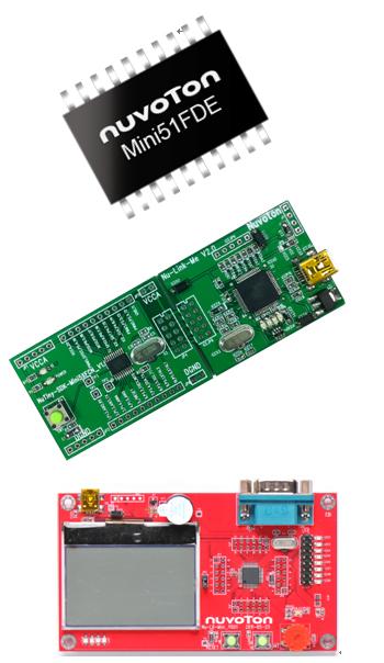 NuTiny-Mini51F 開發板與學習板