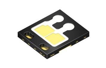 Oslon Black Flat LED現在推出雙晶片版本。