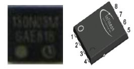 Low Voltage single-N MOSFET