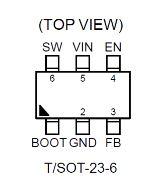1.5A, 18V, 500kHzACOTTMSynchronous Step-Down Converter