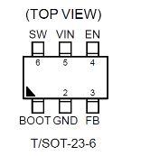 2.5A, 18V, 500kHz ACOTTM Synchronous Step-Down Converter