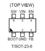 3.5A, 18V, 500kHz ACOTTM Synchronous Step-Down Converter