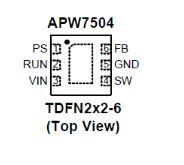 APW7504QBI-TRG