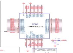 手机触控IC-GT615